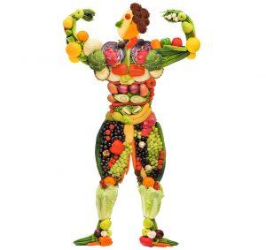Obstmann: Obst, Gemüse, gesundes Essen machen fit