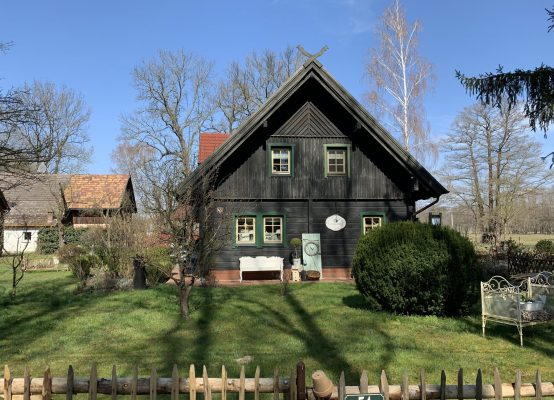 Typisches Spreewaldhaus nahe Burg