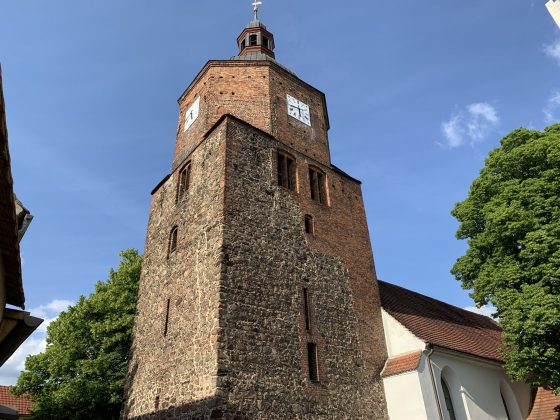 Die Wendisch-Deutsche Doppelkirche in Vetschau im Spreewald