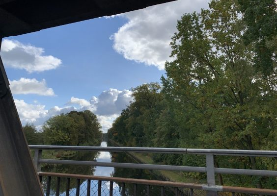 Blick von der Brücke auf den Malzer Kanal bei Liebenwalde