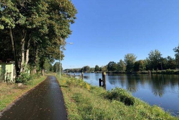 Radweg am Oder-Havel-Kanal östlich von Oranienburg