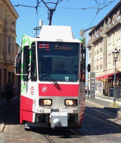 Straßenbahn in Cottbus